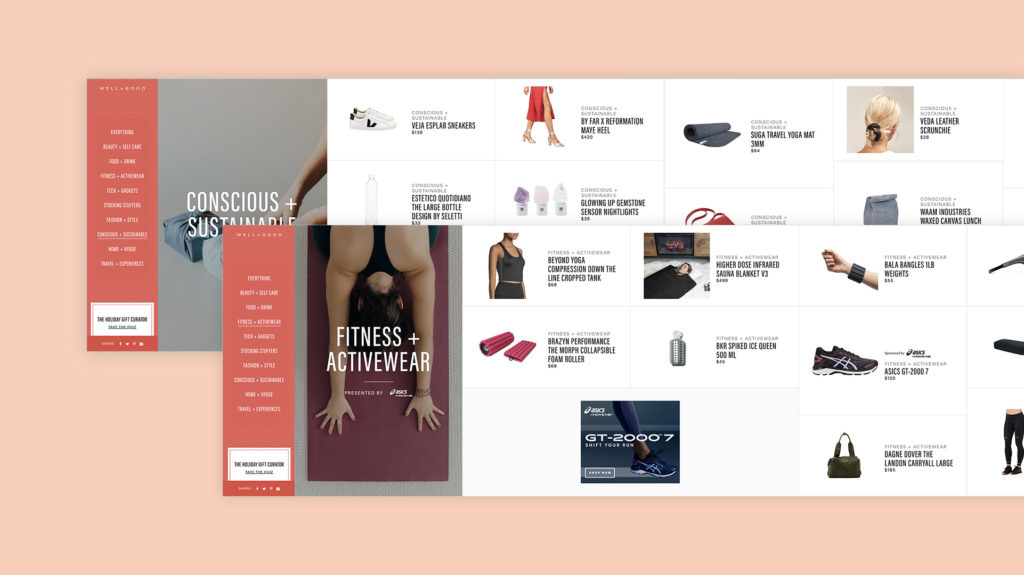 Well+Good Category Pages