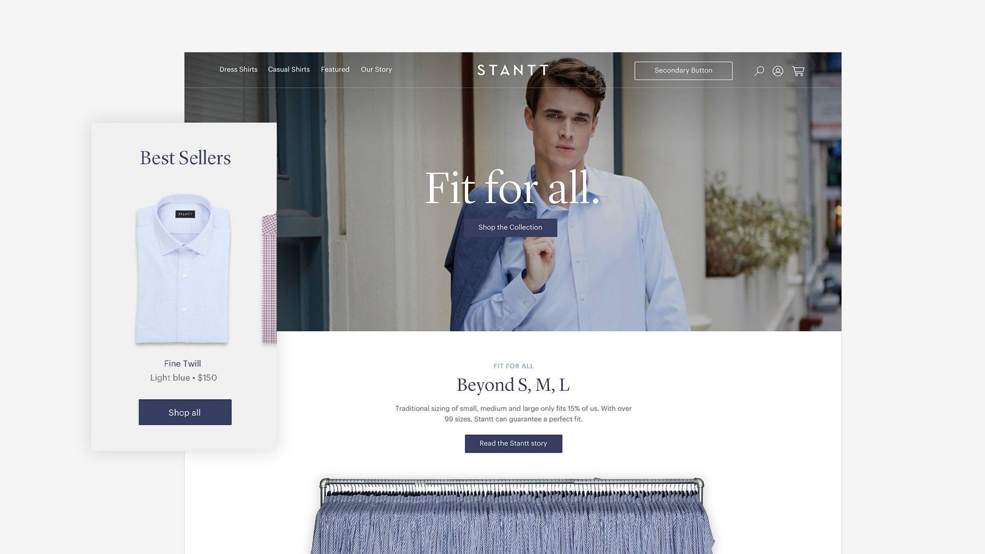 Stantt Homepage