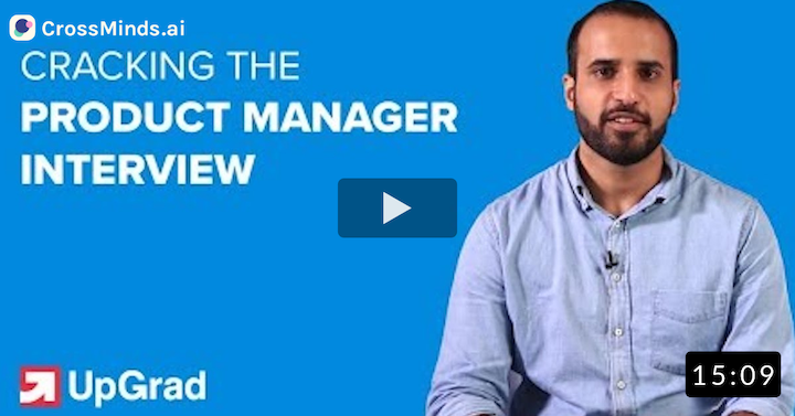 How to Crack a Product Manager Interview