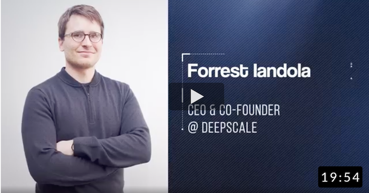 Comprehensive CV System To Help Cars Understand The Environment. Forrest Iandola, Ex-CEO @ DeepScale