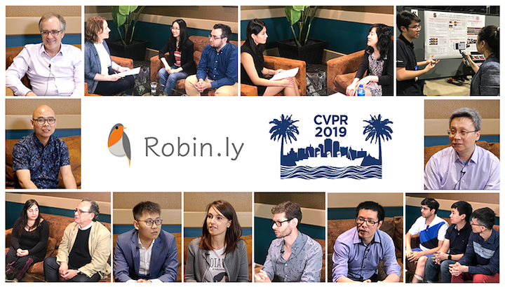 Robin.ly CVPR 2019 talks - Crossminds.ai