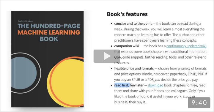 The Hundred-Page Machine Learning Book (2019)
