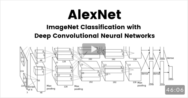 ImageNet Classification with Deep Convolutional Neural Networks (AlexNet)