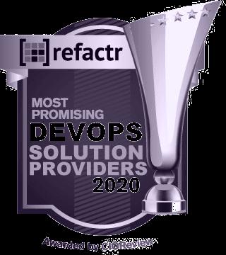 Logo of CIO Review, an award won by Refactr