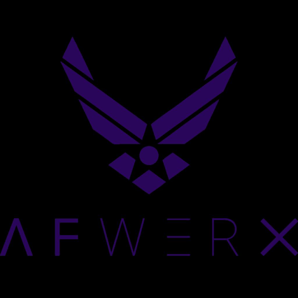 Logo of AFWERX, an award won by Refactr