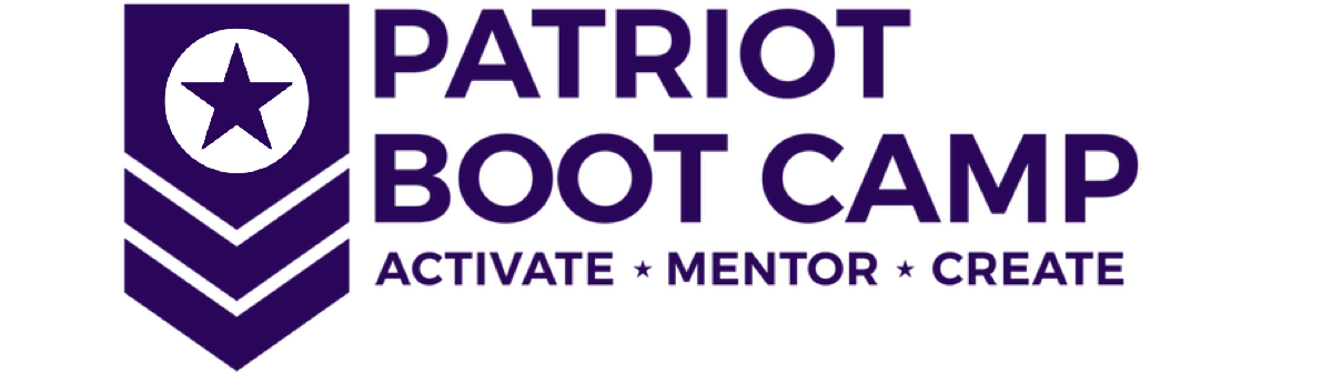 Logo of Patriot Bootcamp, an award won by Refactr
