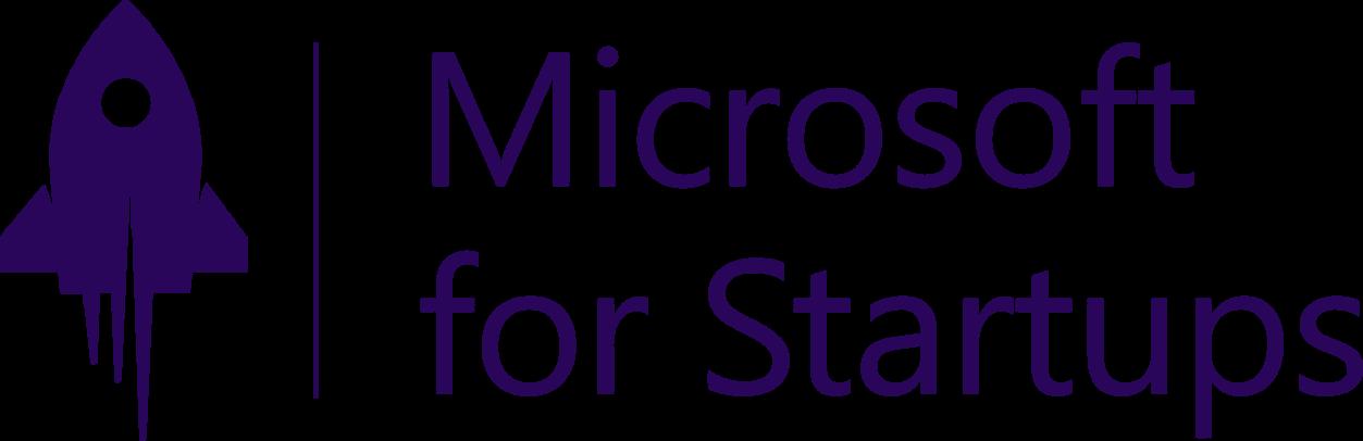 Logo of Microsoft Startups, an award won by Refactr