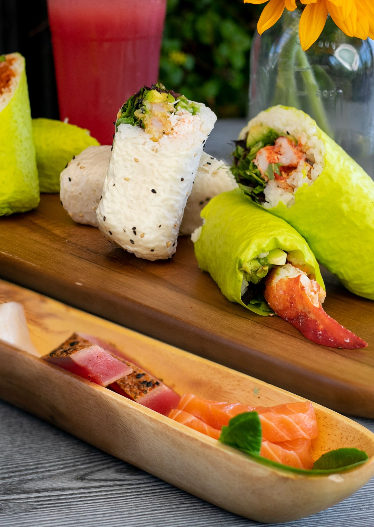 Howdy's sushi