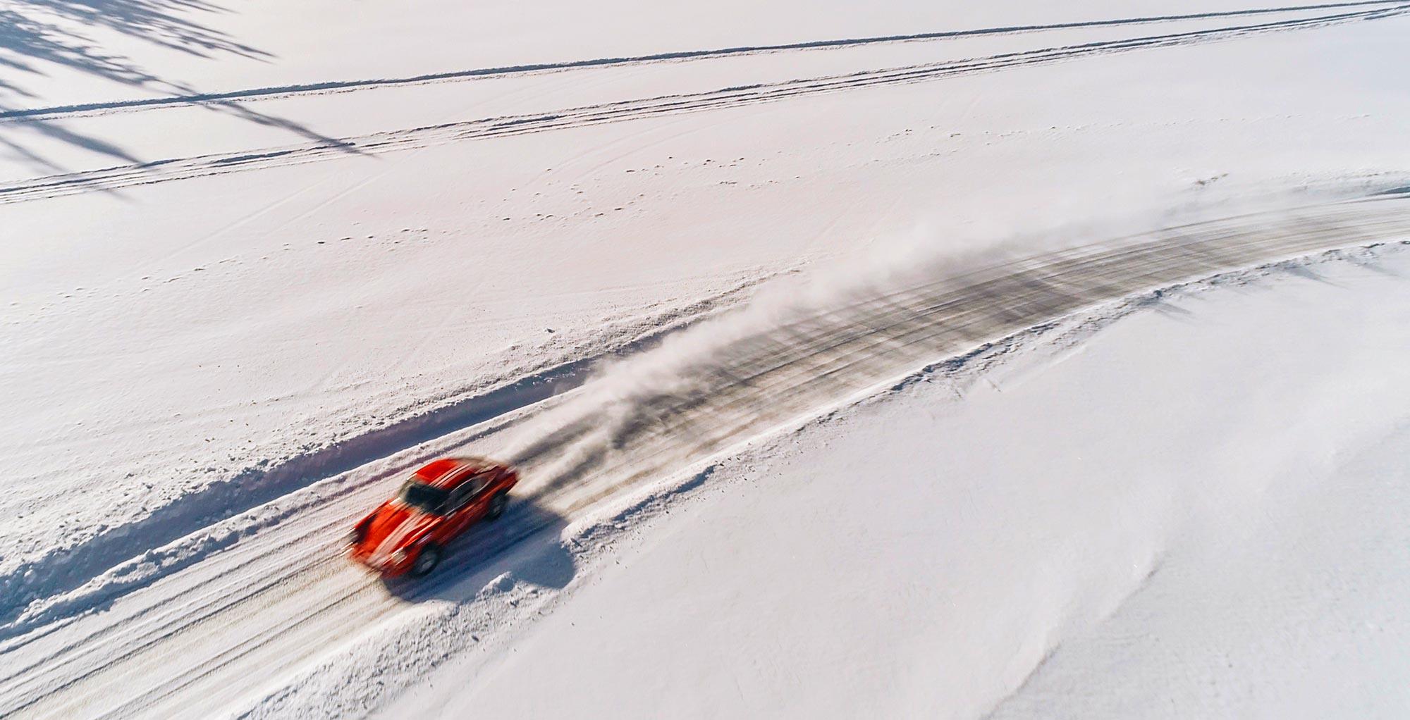 Porsche Ice Driving Sweden (mobile)