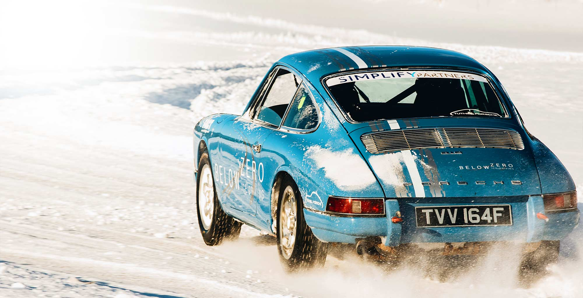 Ice Driving with Tuthill Porsche (mobile)