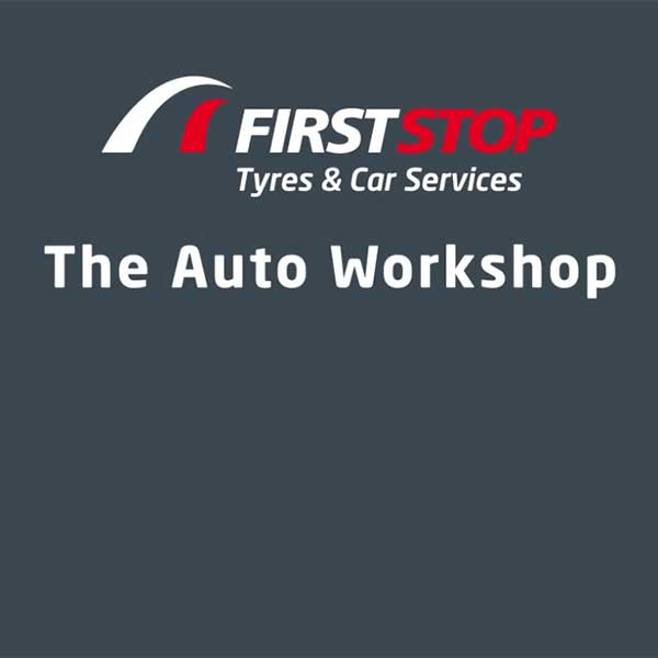 First Stop logo and Auto Workshop logo