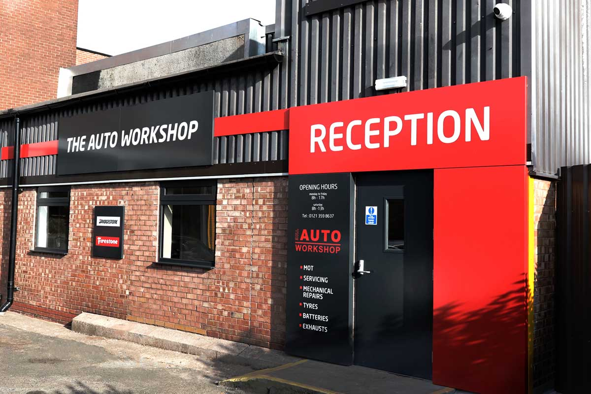 The Auto Workshop exterior