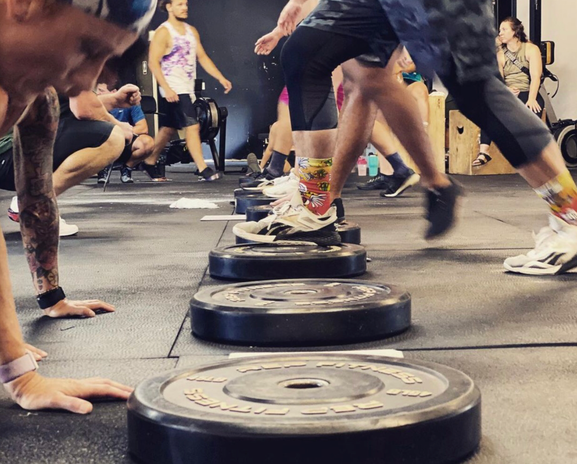 Functional Movements at KS Athletic Club - CrossFit and Bootcamp