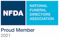 National Funeral Directors Association Proud Member 2021 Logo