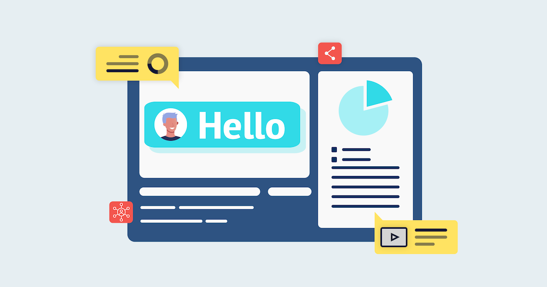 """Say """"Hello"""" to your customers regularly and they'll keep coming back"""