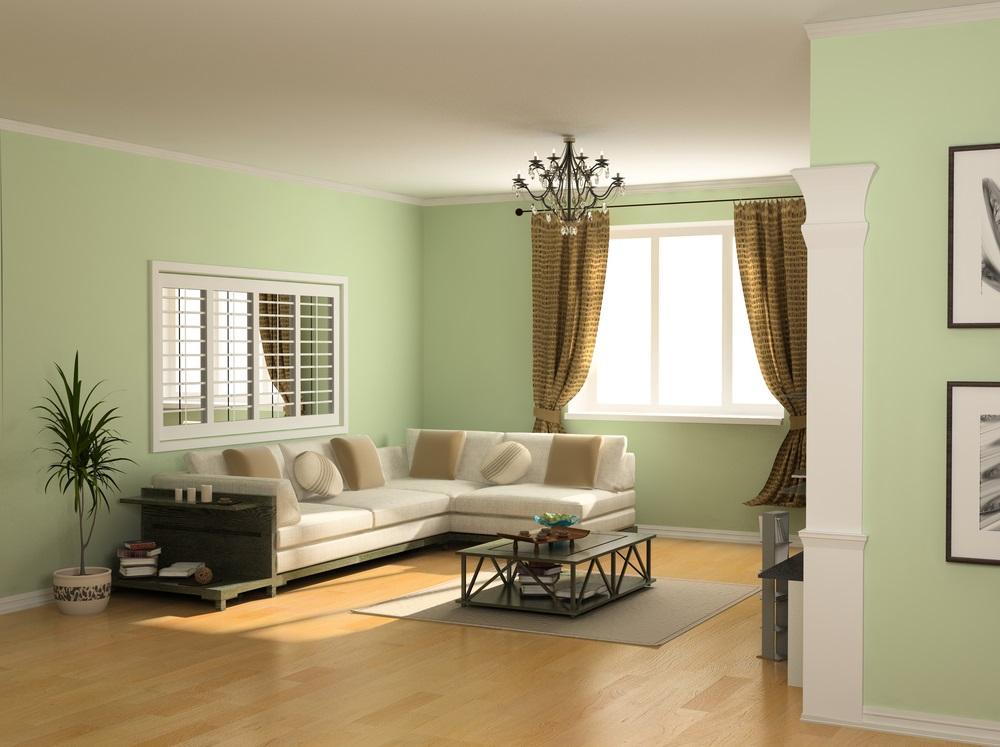forest green small room color