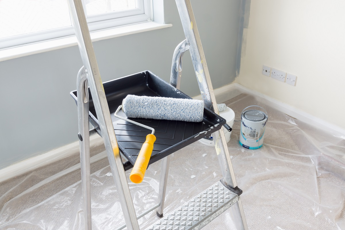 Roller for Popcorn Ceiling Painting