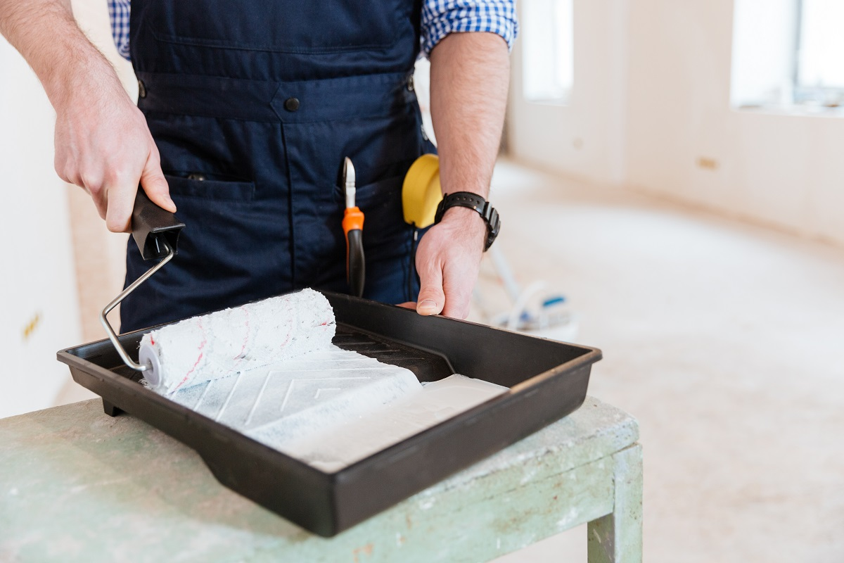 How to Paint a Popcorn Ceiling