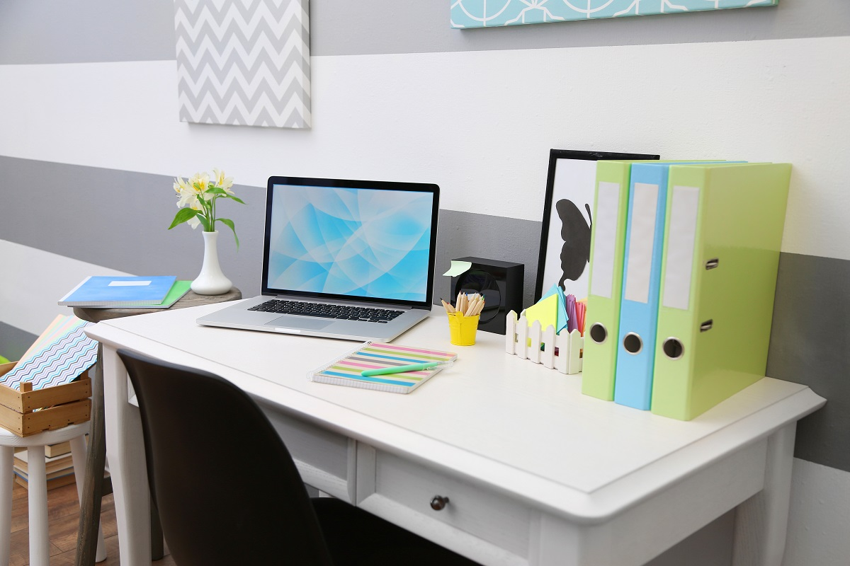 stylish home office space that boosts productivity
