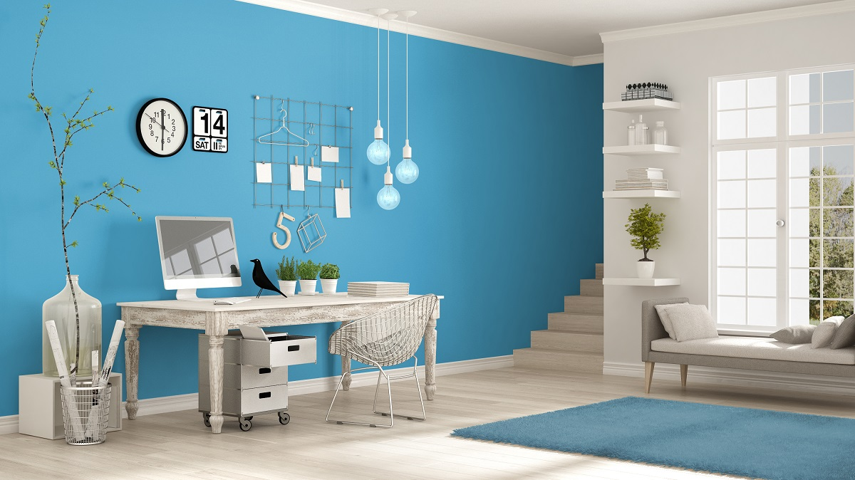 Celestial home office color