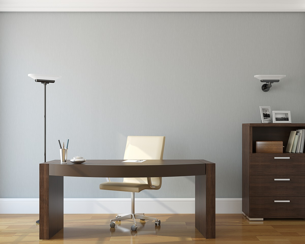 Repose Gray home office color