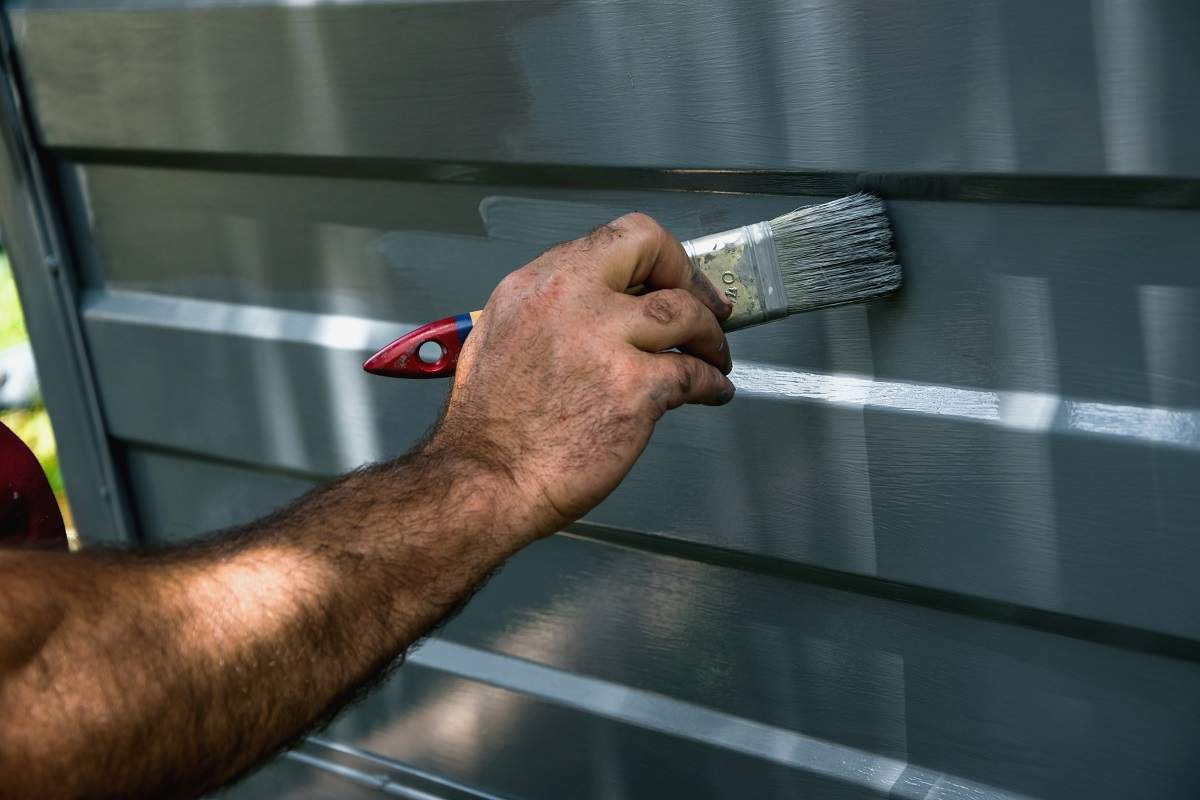 Painting House Exterior Aluminum
