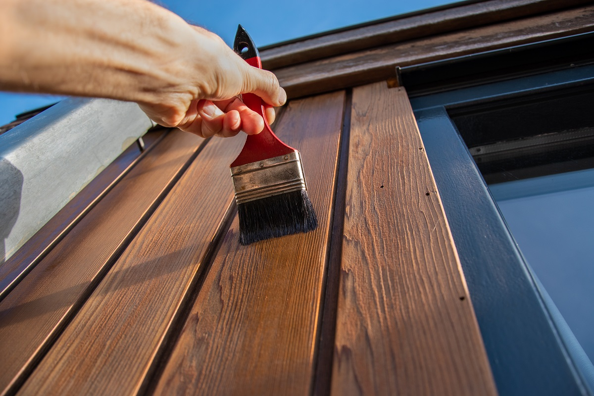 Painting House Exterior Wood