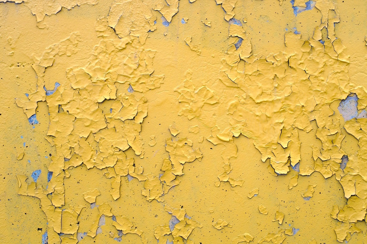 Peeling Paint House Exterior