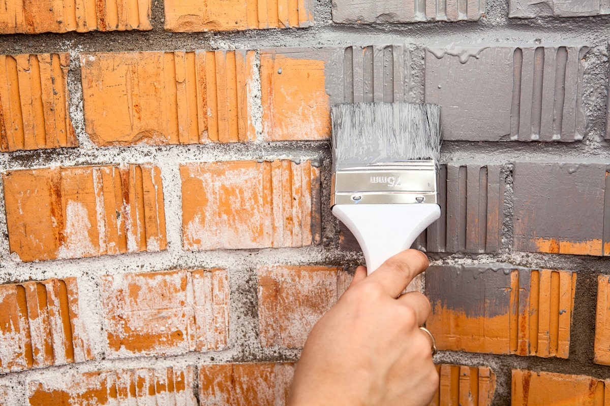 Painting House Exterior Brick