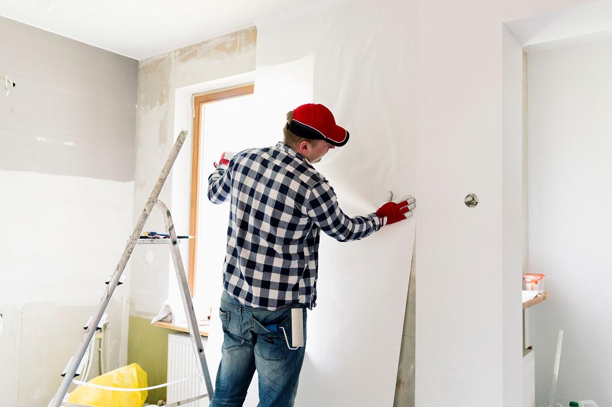 Wallpaper Paint Installation
