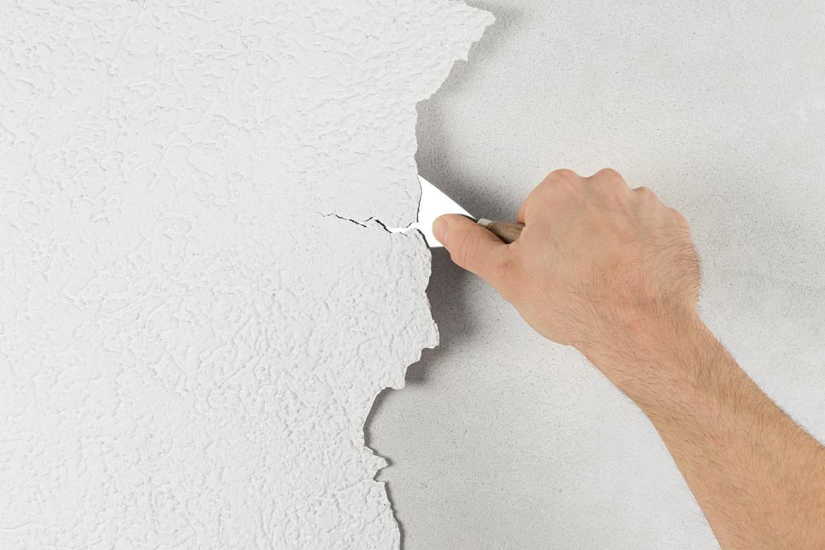 Removing Paint Wallpaper