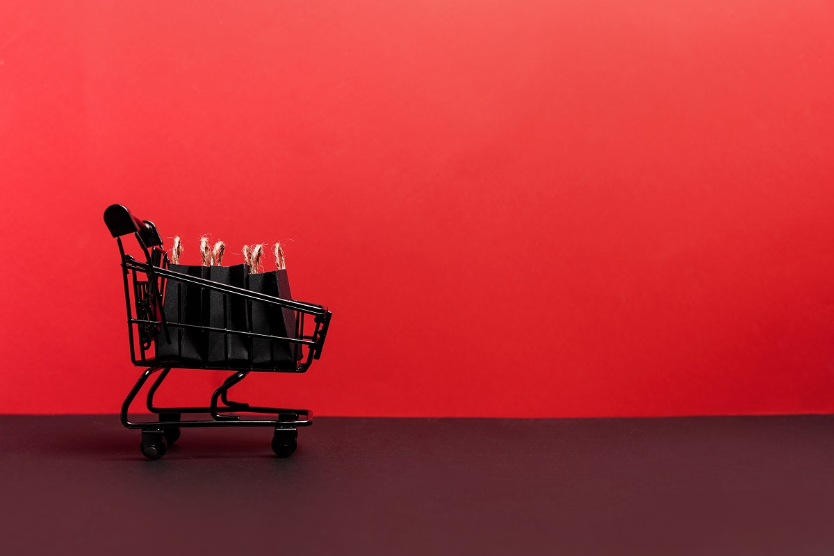 Red Color for a Retail Store