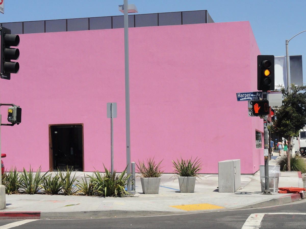 Pink Color for a Retail Store