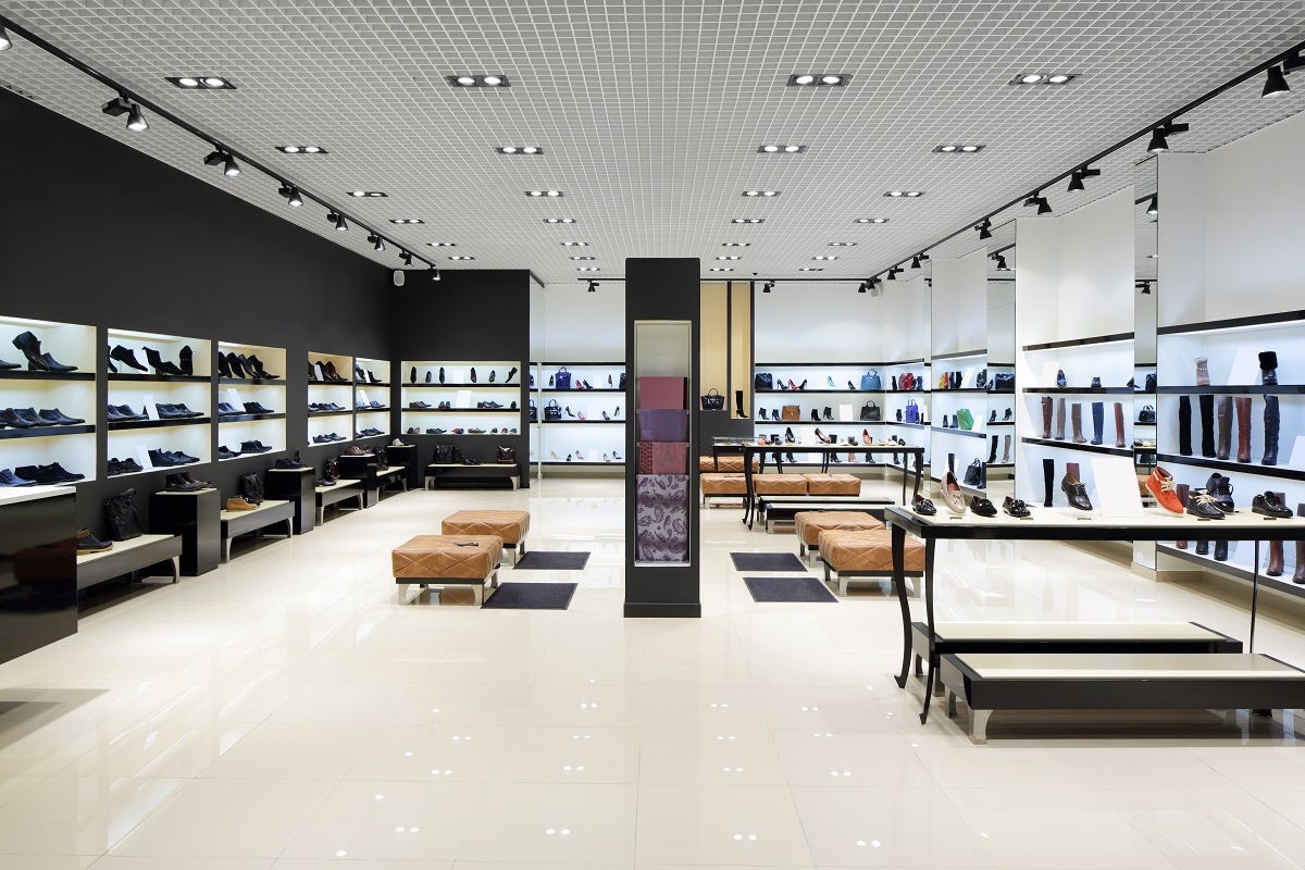 Black Color for a Retail Store