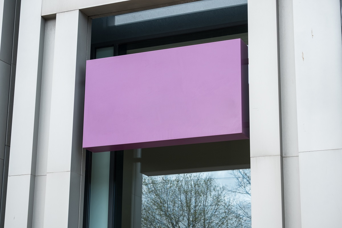 Purple Color for a Retail Store