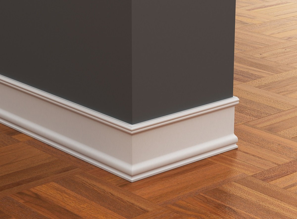 Baseboards Painting Increases Home Value