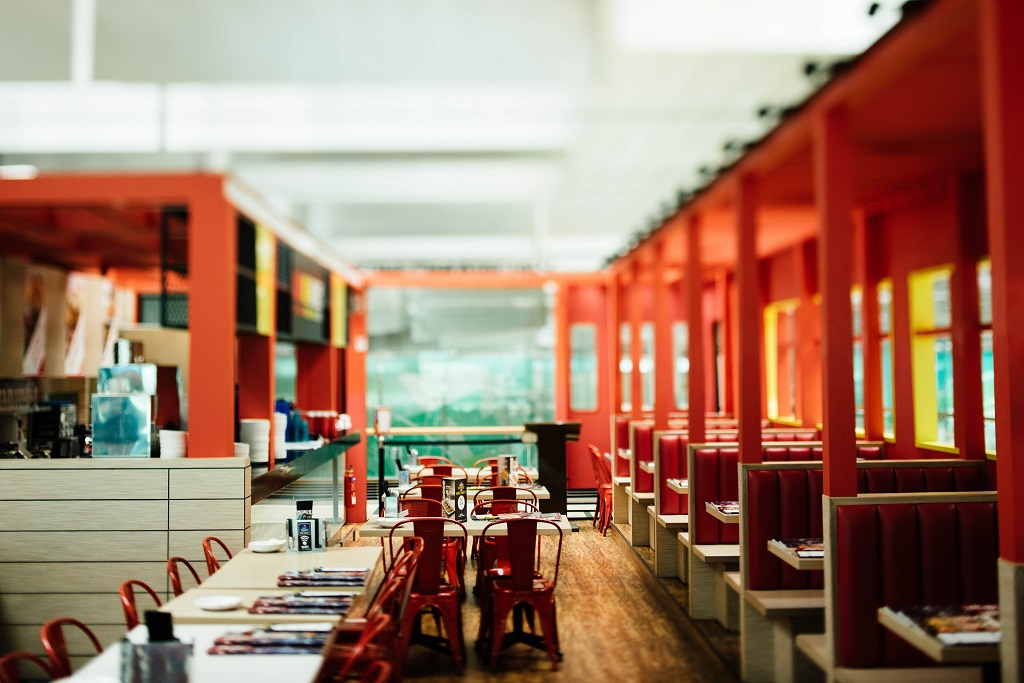 Red Colors for Restaurant