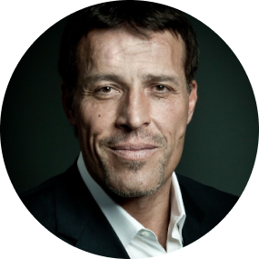 Tony Robbins portrait