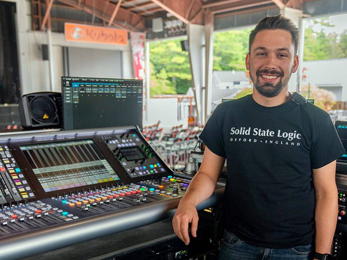 Old Dominion FOH Engineer Ian Zorbaugh Hits the Road with SSL