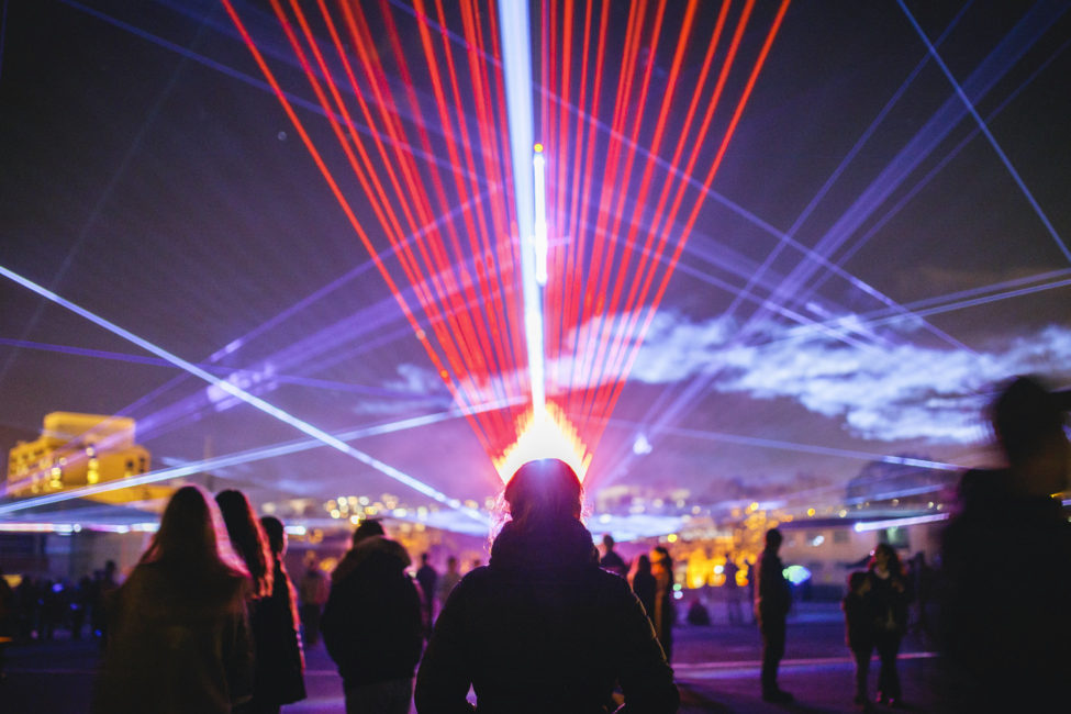 ROBERT DEL NAJA AND CHRIS LAVINE COLLABORATE ON TOURING LIGHT AND SOUND SHOW