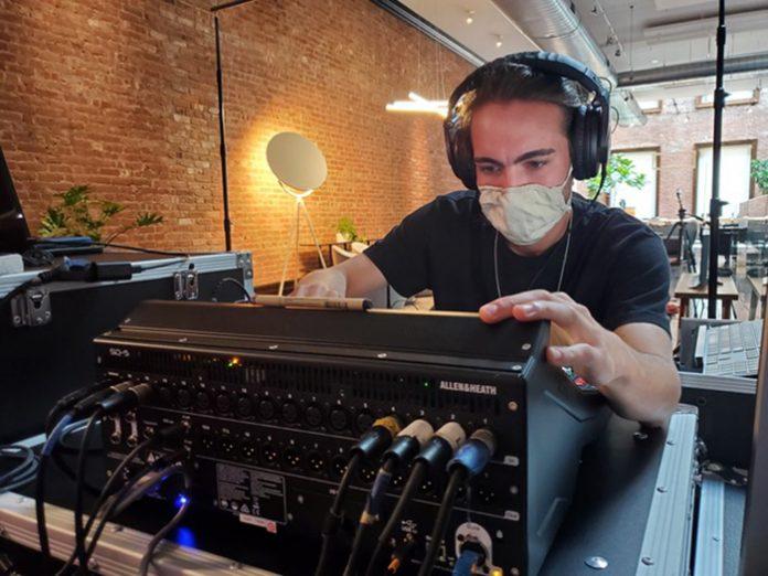 Allen & Heath SQ Delivers Livestream and Recording Mixes