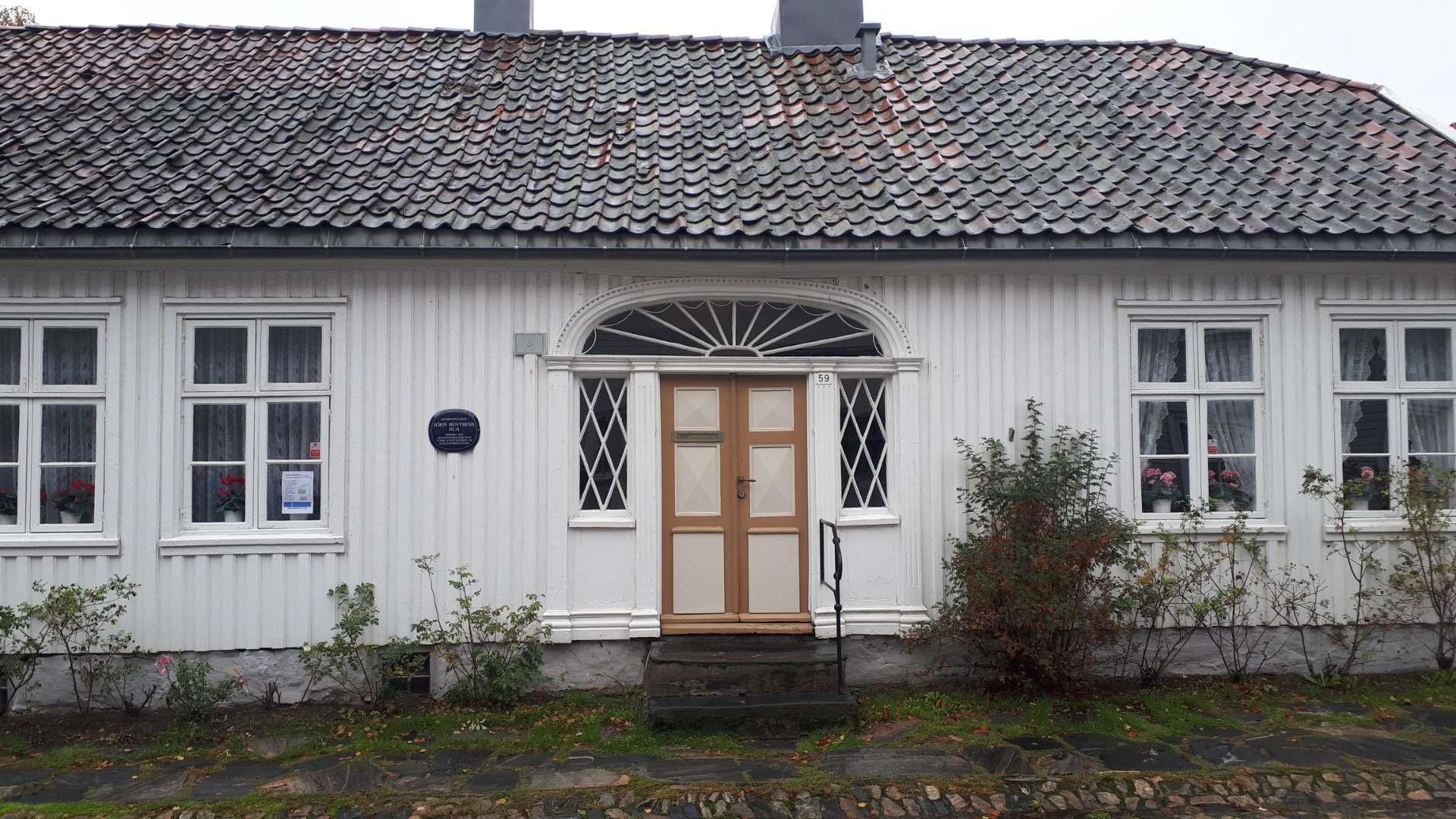 Et av de mange koselige strøkene i Kristiansand.