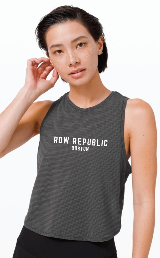 Lululemon Fast as Light Tank *Mesh + Row Republic Boston