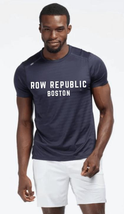 Rhone Swift Short Sleeve Shirt + Row Republic Boston