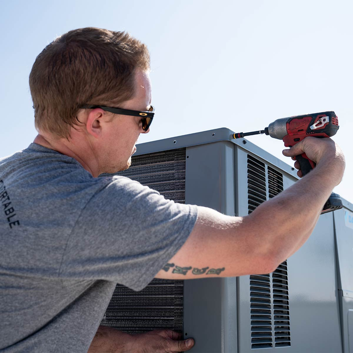 AC installation in San Diego
