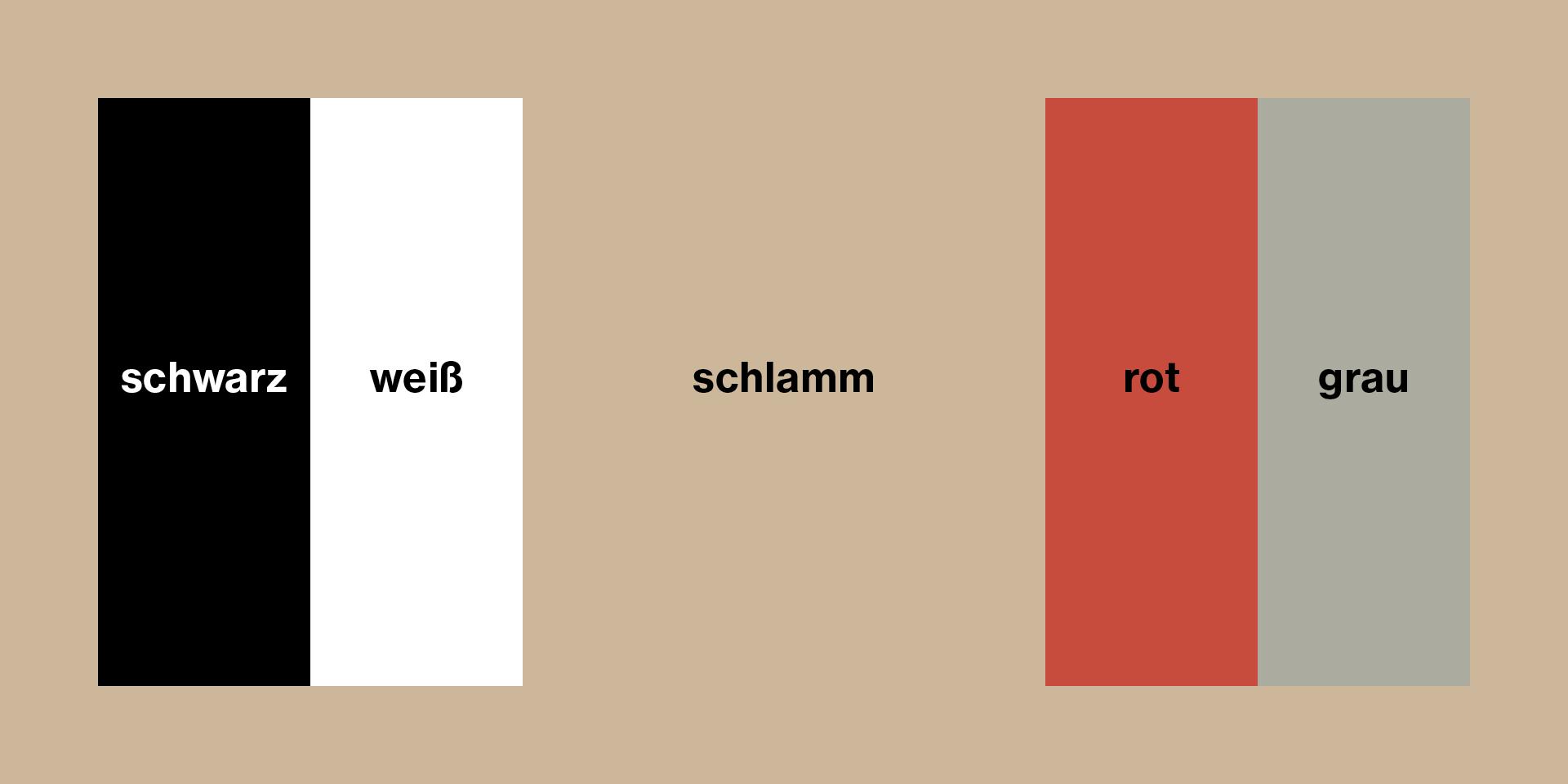 Die im neuen Corporate Design verwendeten Farben