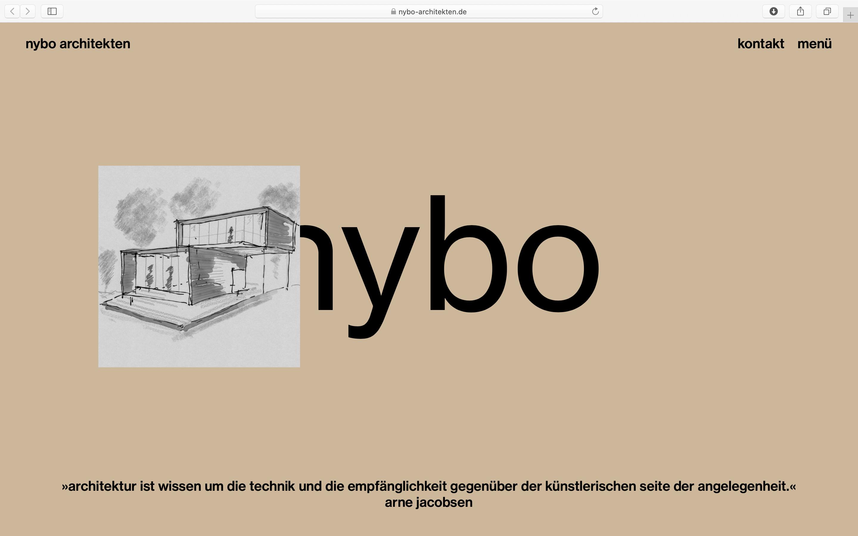 Skizze und ein Zitat von Arne Jacobsen