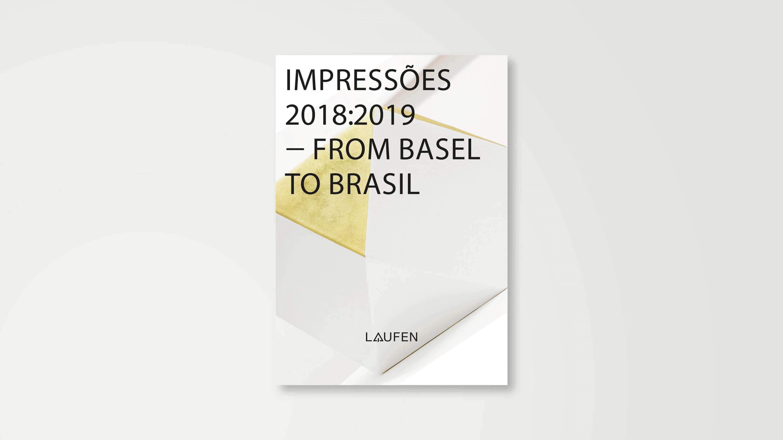 Cover für die Ausstellung Impressões 2018:19 - from Basel to Brasil
