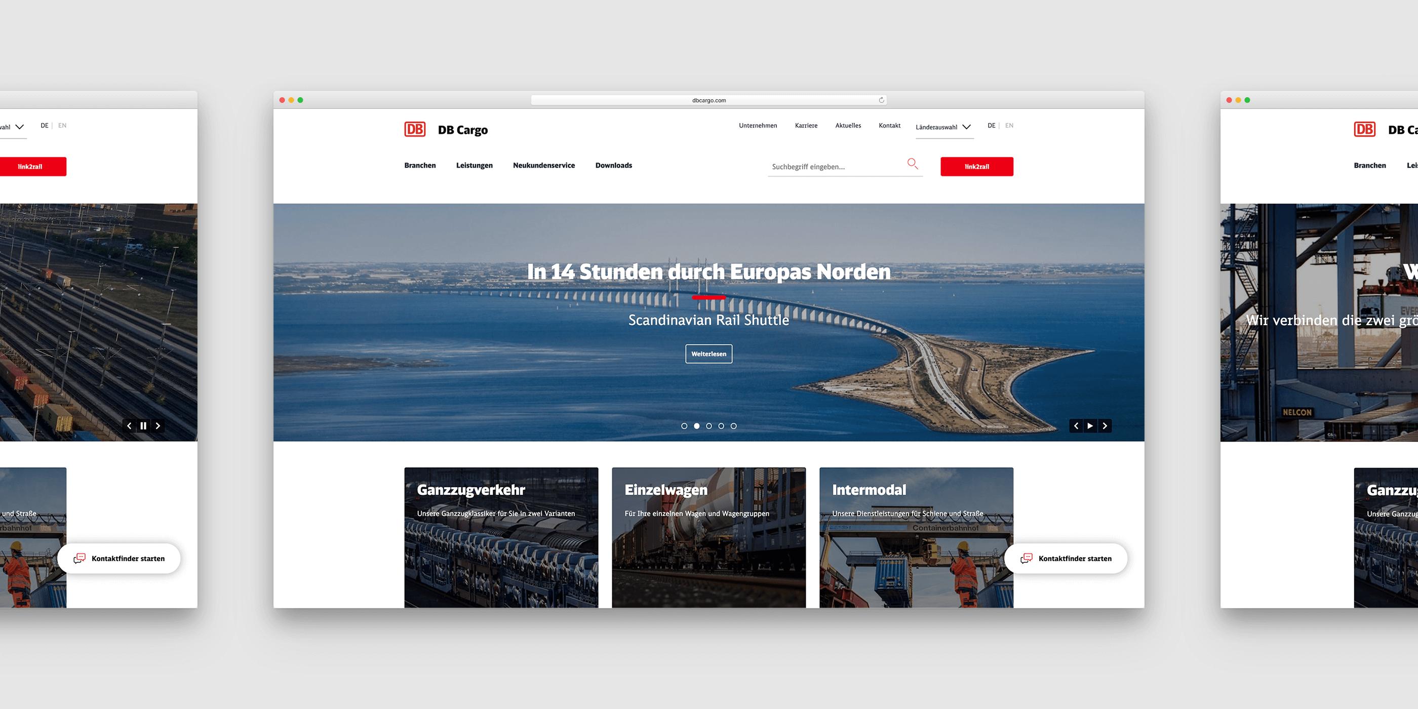 Transportweg über eine Brücke zwischen Dänemark und Schweden