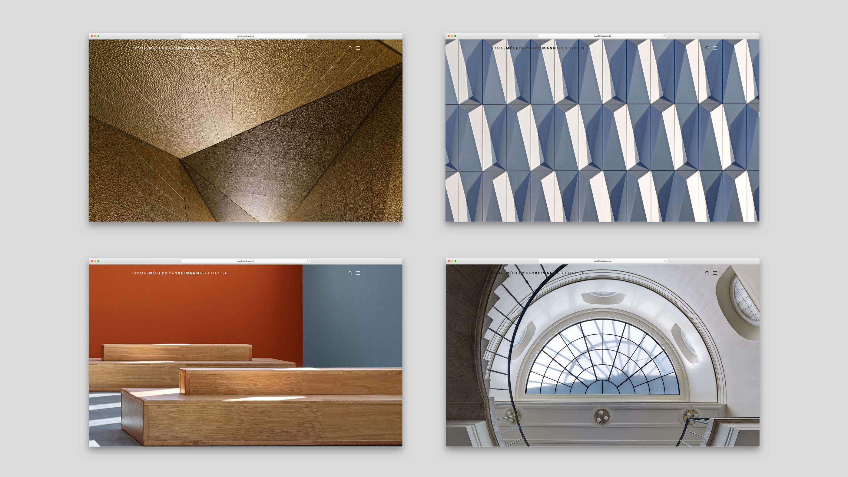 Fassadendetails von Müller Reimann Architekten